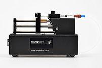 NanoSight syringe pump