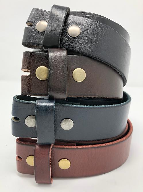 Supple Leather Belt Strap