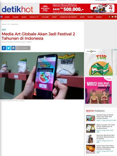 Media Art Globale Akan Jadi Festival 2 T