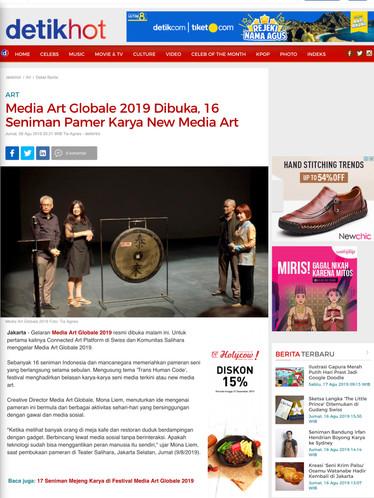 01Media Art Globale 2019 Dibuka, 16 Seni