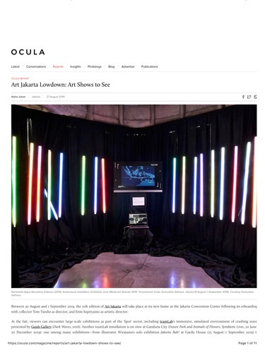 Ocula_Art Jakarta Lowdown_ Art Shows to