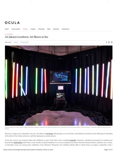 Ocula_Art Jakarta Lowdown_ Art Shows to
