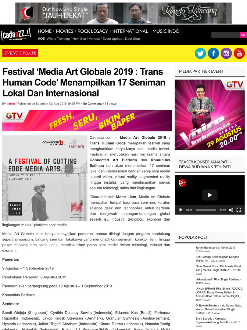 cadazz_Media Art Globale 2019