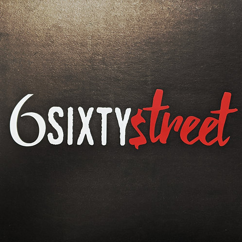 6 Sixty Street - Stickers