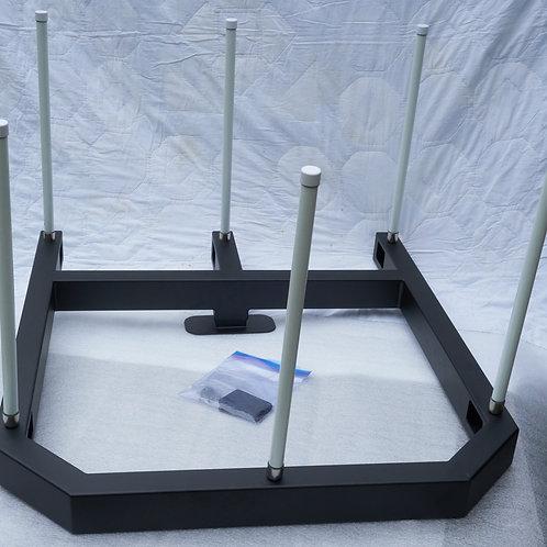 6-bank Antenna Mount assembly