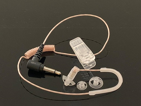 Listen Only Kit - with angled 3.5 mm single pin plug