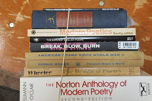 Classics- Dickens, Yeats, Emerson,