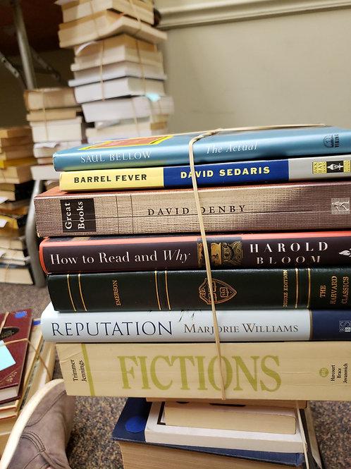Classics - Below, Sedaris, Denby, Bloom