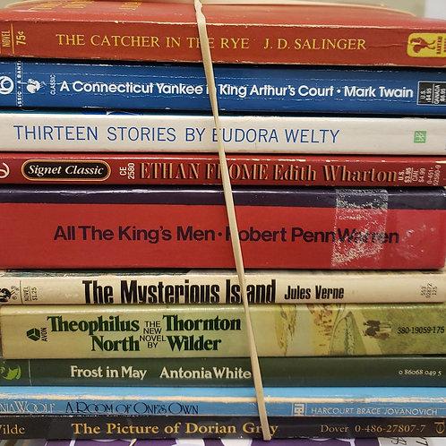 Classics- Twain, Warren, Wilder, White, Wilde, Woolf