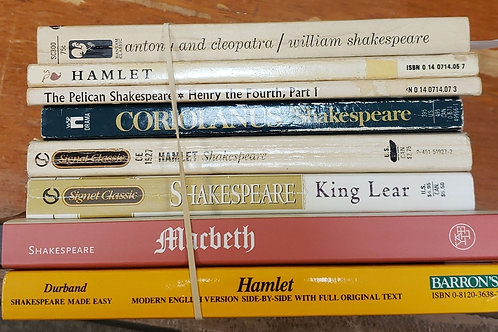 Classics- Shakespeare