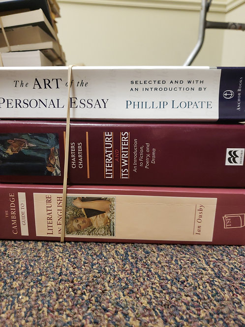 Classics - Lopate, Ousby, Charters