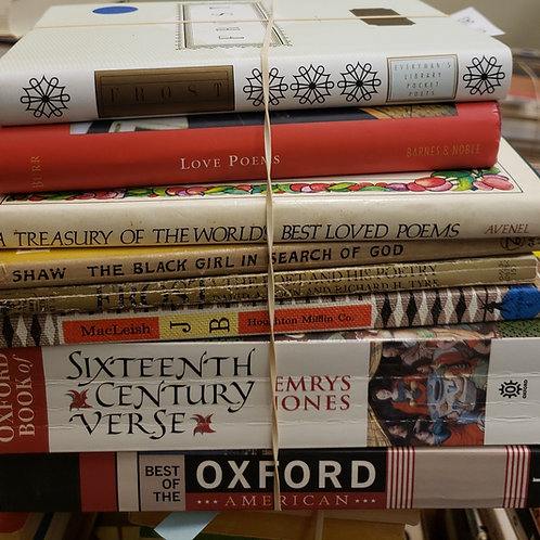 Classics- Frost, Shaw, Verse, Poems