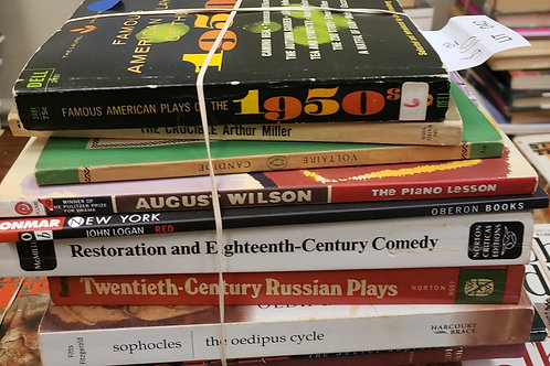 Classics- William's, Albee, Gazzo, Wilson, Sophocles