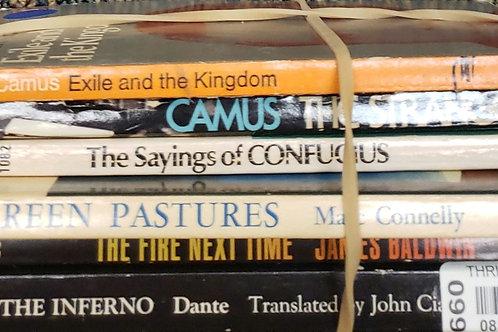 Classics- Dante, Connelly, Confucius