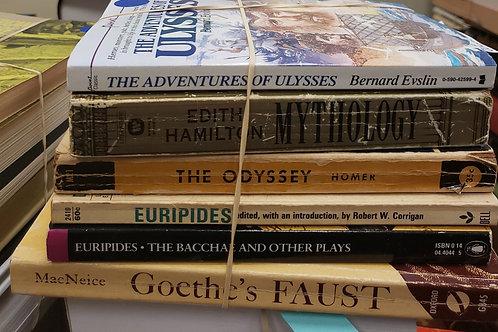 Classics - Euripides, Homer, Goethe