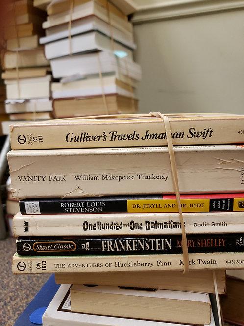 Classics - Swift, Thackeray, Twain