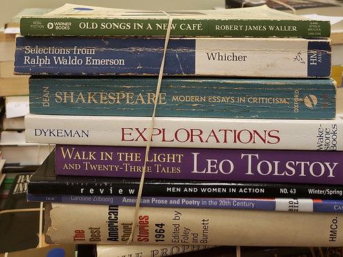 Classics - Dykeman, Tolstoy, Emerson, Waller