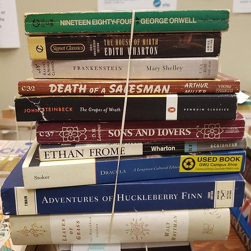 Classics - Orwell, Miller, Lawrence, Twain, Whitman