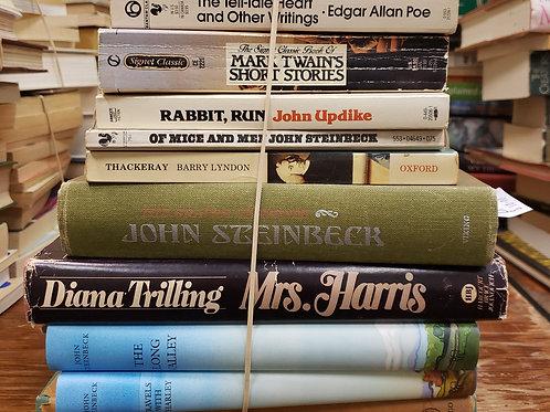 Classics- Steinbeck, Trilling, Shanley, Poe