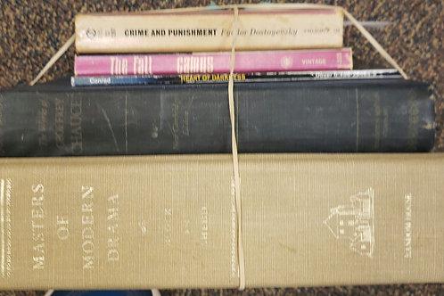 Classics- Camus, Dostoevsky