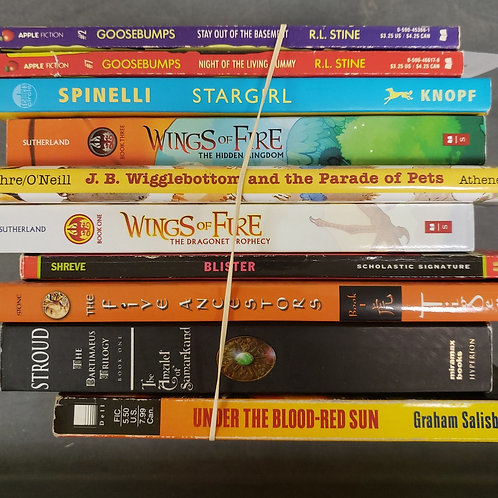 Young Readers - Sutherland, Stroud, Shreve, Spinelli