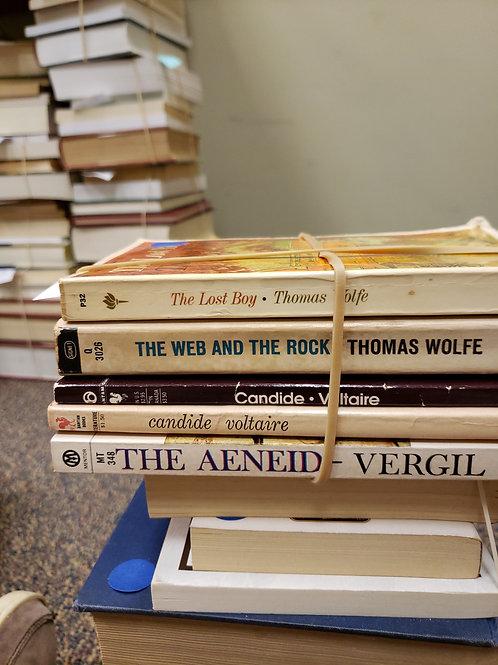Classics - Wolfe, Vergil, Voltaire