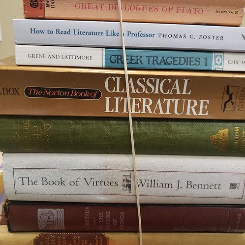 Classics - Aeschylus, Sophocles, Plato, Dante