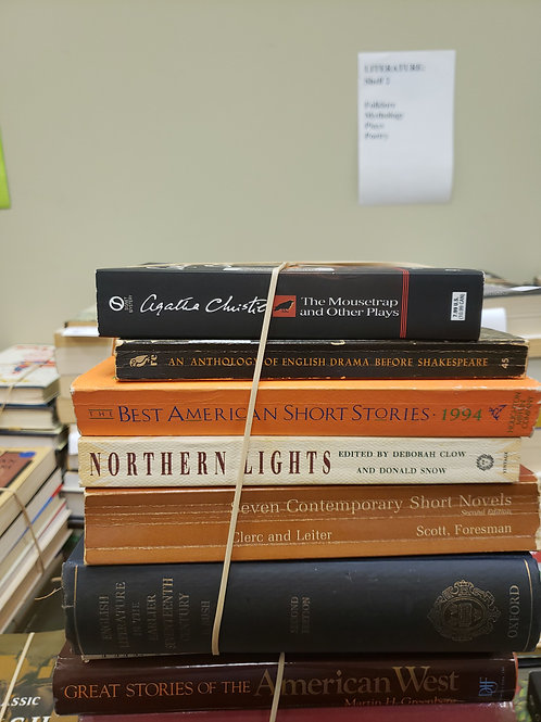 Classics - Christie, Foresman, Shakespeare, Updike, Atwood, Adams