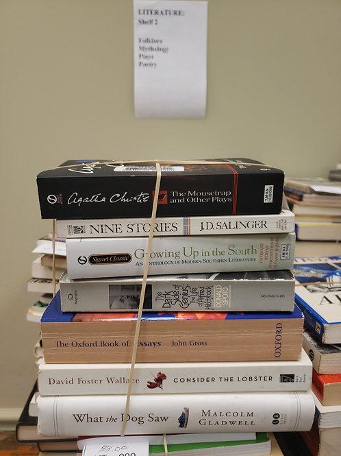 Classics- JD Salinger, Hitchcock, Gross, Gladwell