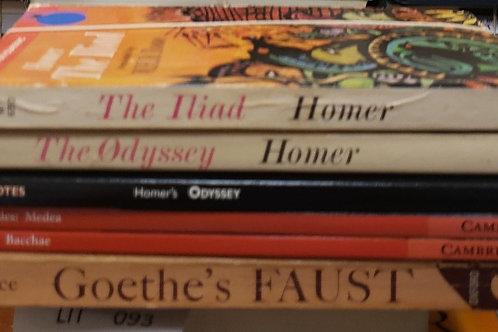 Classics- Homer, Goethe, Euripides