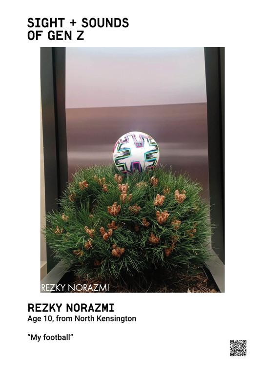 REZKY NORAZMI  Age 10, from North Kensington