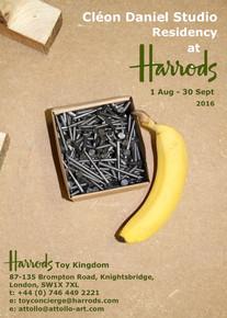 01.08.2016 - 30.09.2016 | CLEON DANIEL AT HARRODS