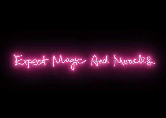 Poetic Light Typography