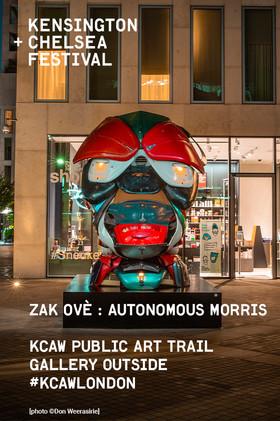 Manchester Trinity Way  Zak Ove's Autonomous Morris