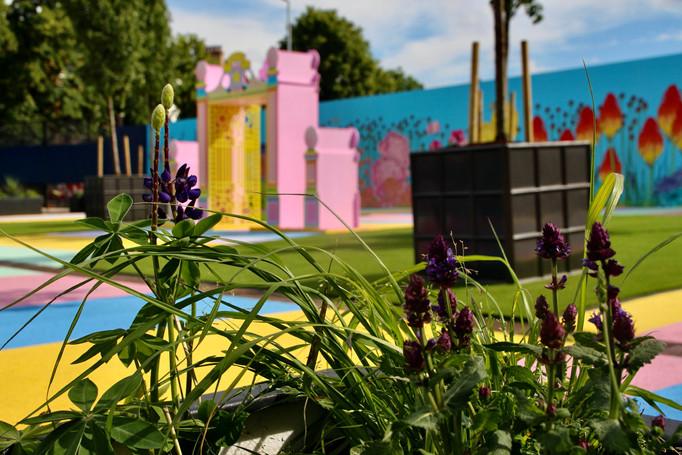KCAW + Clear Channel Outside Gallery 2021 Baker + Borowski's Pleasure Garden, Earl's Court