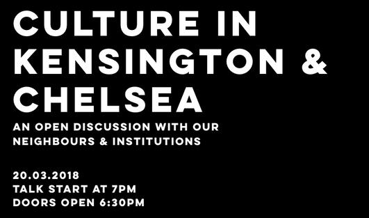 20.03.2018   Kensinton & Chelsea Art Weekend Introductory Meeting