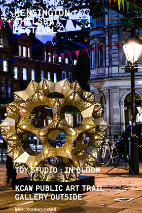 Lambeth Palace Road  Toy Studio's In Bloom, Sloane Square, 2020