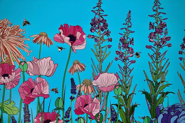 Baker + Borowski's 'Pleasure Garden' detail