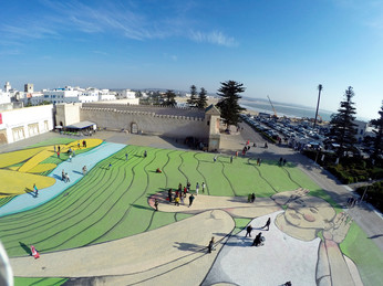 26.01.2016 | LARGEST MURAL IN NORTH AFRICA