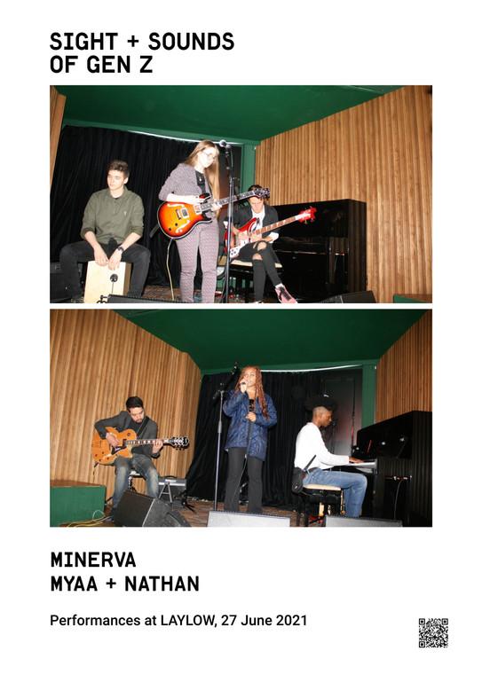 minerva myaa + nathan  Performances at LAYLOW, 27 June 2021