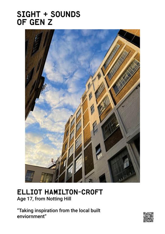 Elliot Hamilton-Croft Age 17, from Notting Hill