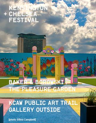 Chiswick Towers Baker + Borowski's 'Pleasure Garden'