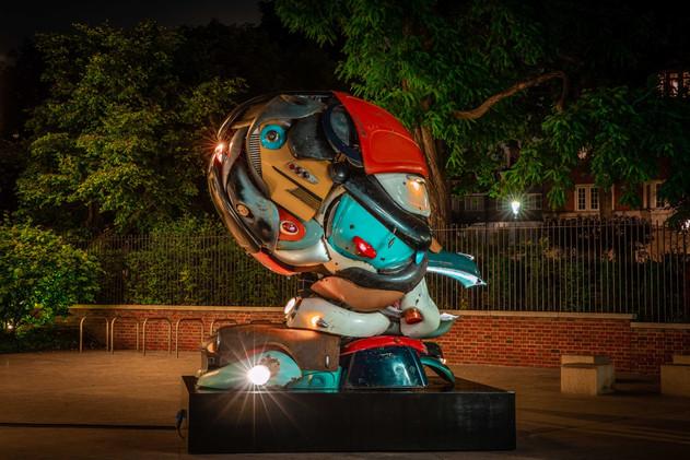 Zak Ove's  'Autonomous Morris' The Design Museum 2021