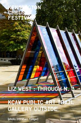 Mancunian Tower Liz West's 'Through 3'