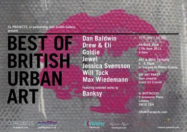 17.06.2011 – 01.07.2011 | BEST OF BRITISH URBAN ART