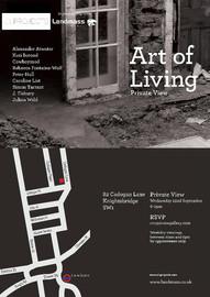 01.09.2011 - 30.10.2011   THE ART OF LIVING