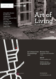 01.09.2011 - 30.10.2011 | THE ART OF LIVING