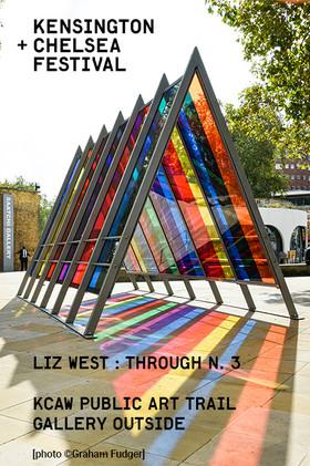 Glasgow Argyle Street  Liz West's 'Through 3'