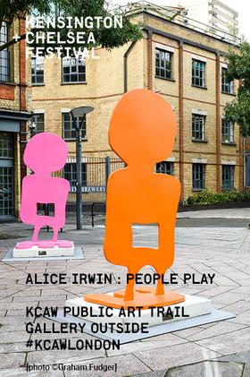 Park Royal  Alice Irwin's 'People Play'