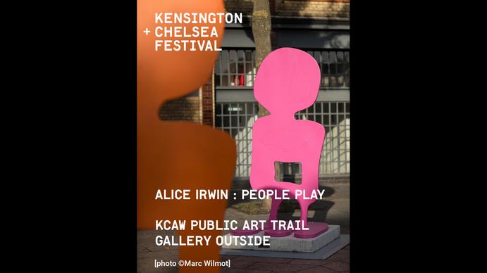 KCAW + Clear Channel Gallery Outside 2021 Alice Irwin 'Peoples' Play' Public Art Trail 2020